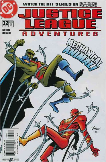 Justice League Adventures (2002) 32-A by DC