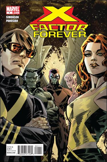 X-Factor Forever 1-A by Marvel