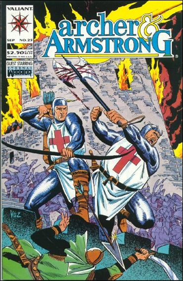 Archer &amp; Armstrong (1992) 25-A by Valiant