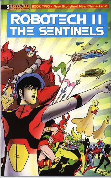 Robotech II: The Sentinels Book II 3-A by Eternity