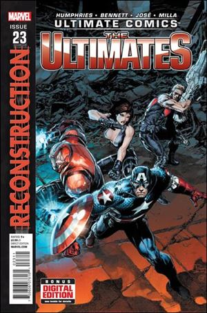 Ultimate Comics Ultimates 23-A