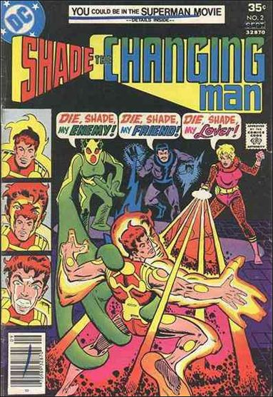 Shade, the Changing Man (1977) 2-A by DC