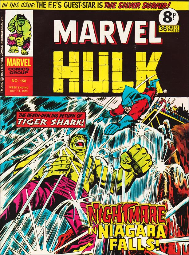Mighty World of Marvel (UK) (1972) 158-A by Marvel UK