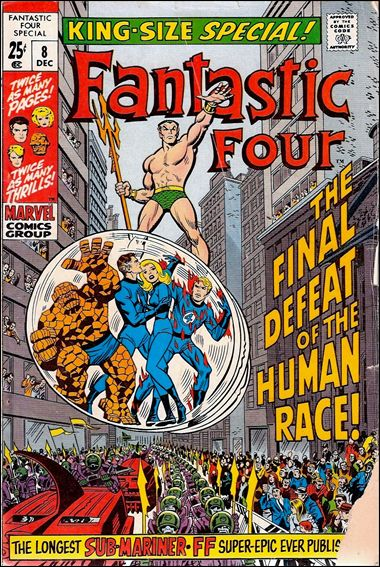 Fantastic Four Annual  8-A by Marvel