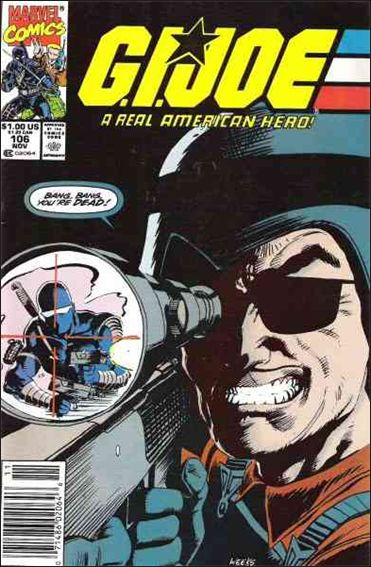G.I. Joe: A Real American Hero 106-A by IDW