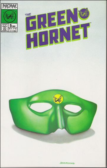 Green Hornet (1989) 5-A by Now Comics