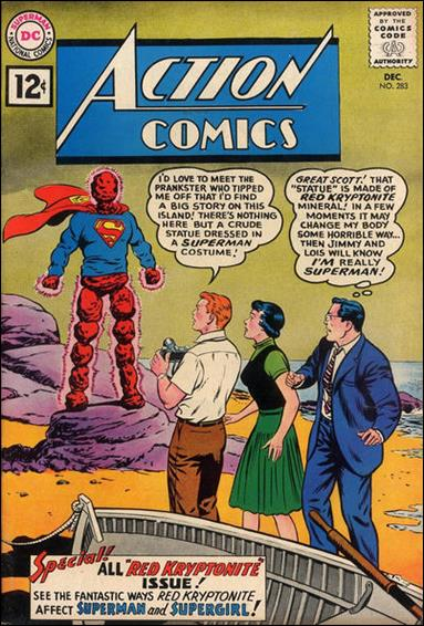 Action Comics (1938) 283-A by DC