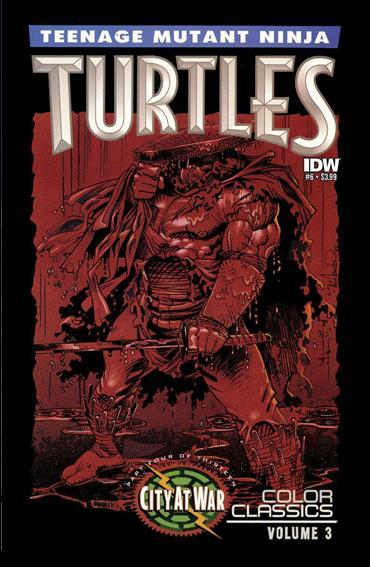 Teenage Mutant Ninja Turtles Color Classics Vol. 03 6-A by IDW