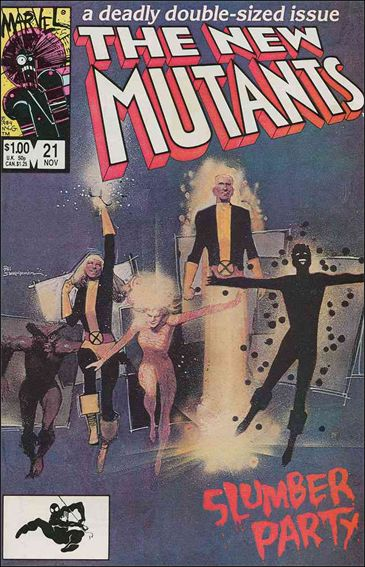 New Mutants (1983) 21-A by Marvel