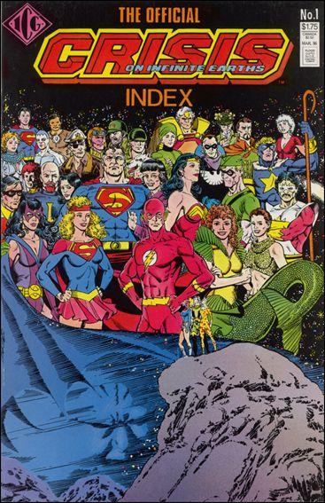 Official Crisis on Infinite Earths Index 1-A by ICG
