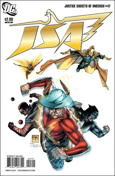 Justice Society of America (2007) 47-A by DC