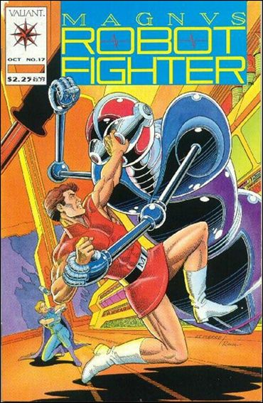 Magnus Robot Fighter (1991) 17-A by Valiant