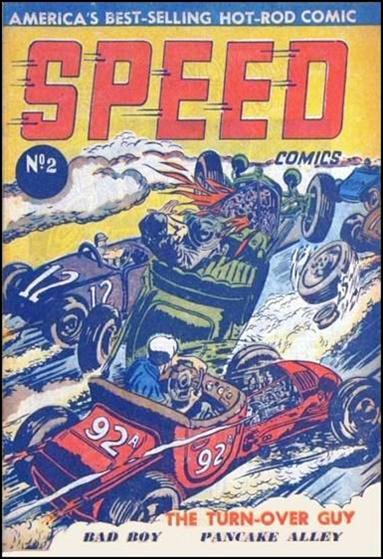 Speed Comics (Australia) 2-A by Transport Publishing