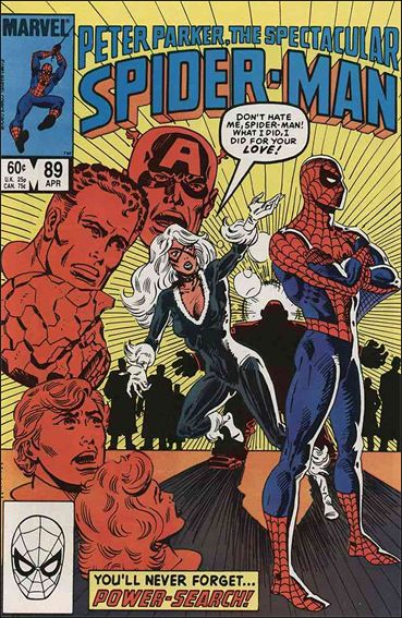 Spectacular Spider-Man (1976) 89-A by Marvel