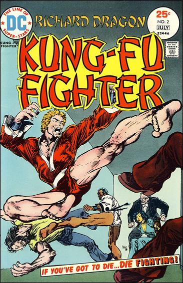 Richard Dragon, Kung-Fu Fighter 2-A by DC