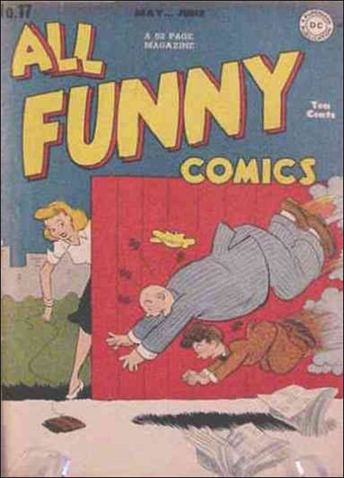 All Funny Comics 17-A by DC