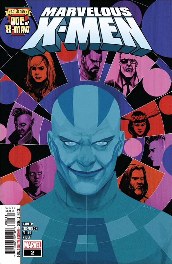 Age of X-Man: Marvelous X-Men 2-A by Marvel
