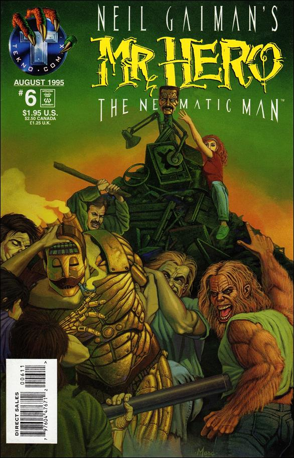 Neil Gaiman's Mr. Hero: The Newmatic Man (1995) 6-A by Tekno•Comix