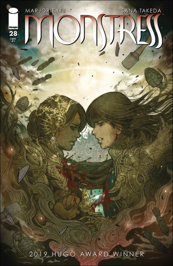 Monstress 28-A by Image