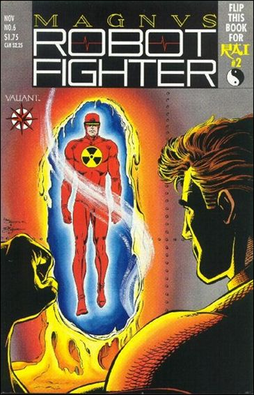 Magnus Robot Fighter (1991) 6-A by Valiant
