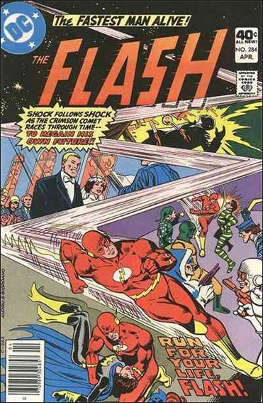 Flash (1959) 284-A by DC