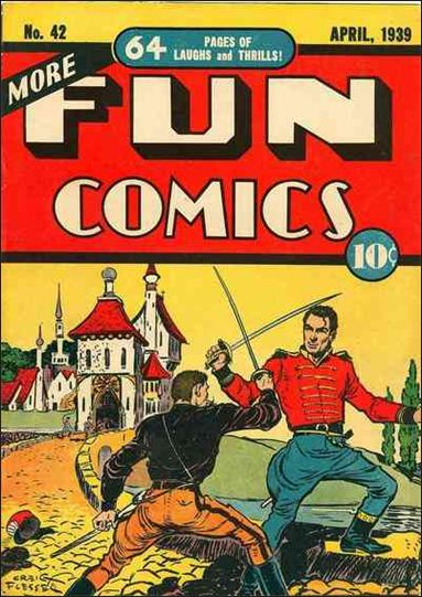 More Fun Comics 42-A by DC