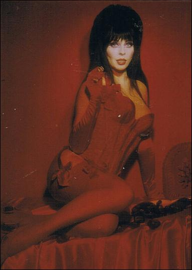 Elvira, Mistress of Omnichrome (Base Set) 4-A by Comic Images