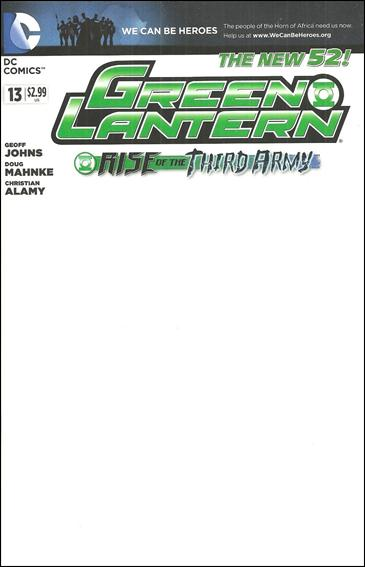 Green Lantern (2011) 13-E by DC