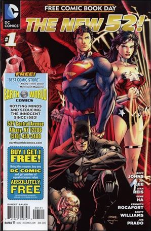 DC Comics - The New 52 FCBD Special Edition 1-P