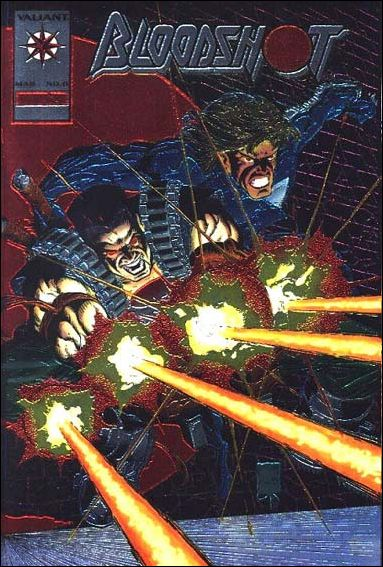 Bloodshot (1993) 0-C by Valiant