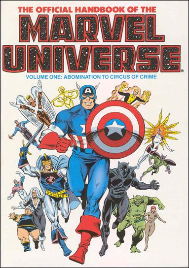 Official Handbook of the Marvel Universe 1-A by Marvel