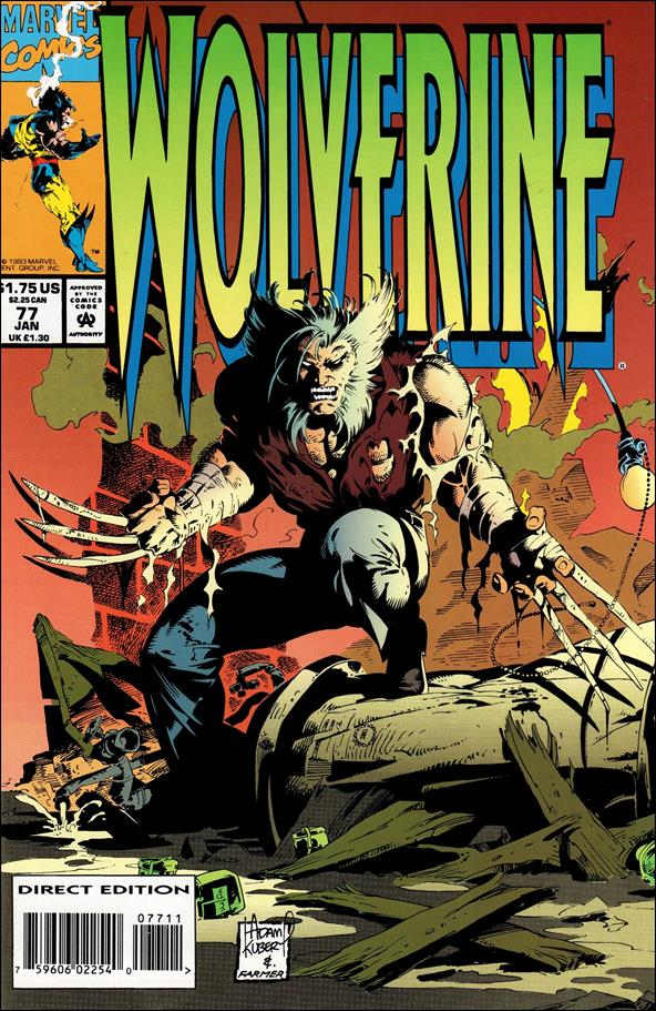 Wolverine (1988)  77-A by Marvel