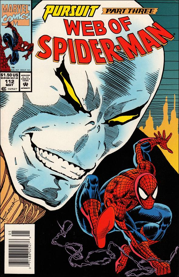 Web of Spider-Man (1985) 112-A by Marvel