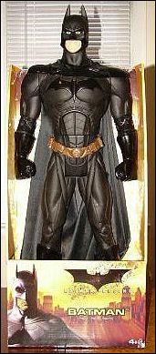 "Batman Begins 30"" Action Figure Batman by Mattel"