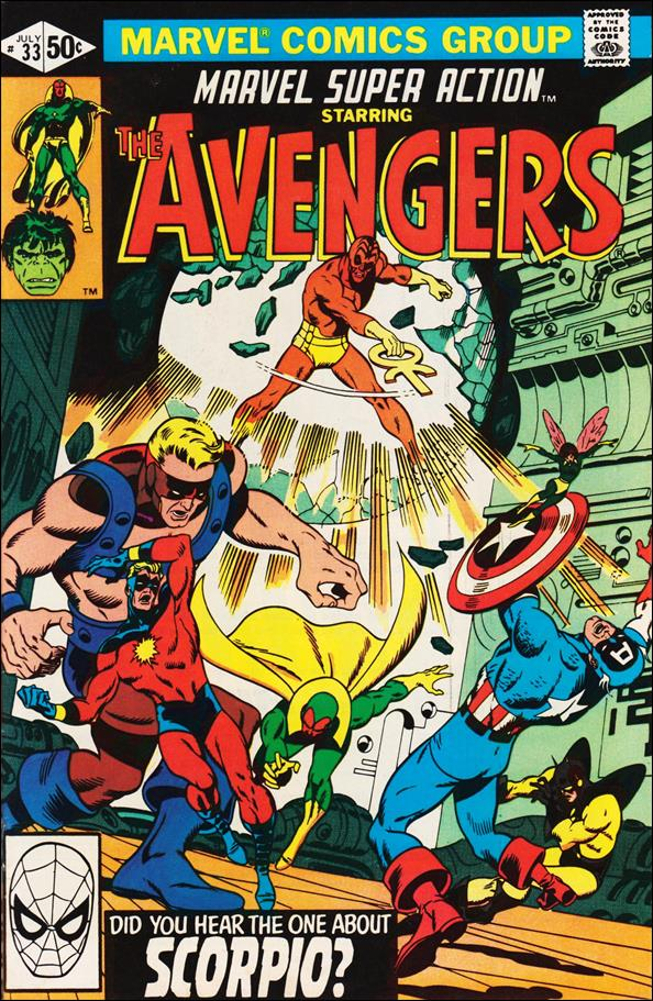 Marvel Super Action (1977) 33-A by Marvel