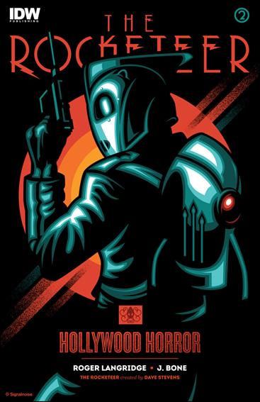 Rocketeer: Hollywood Horror 2-C by IDW