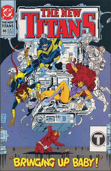 New Titans 88-A by DC