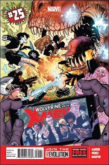 Wolverine & the X-Men (2011) 25-A by Marvel