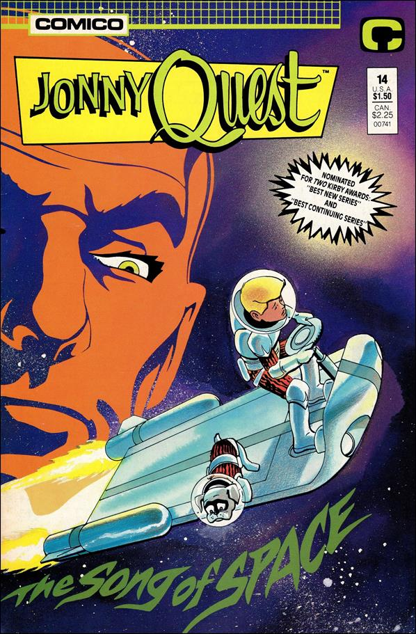 Jonny Quest (1986) 14-A by Comico