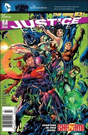 Justice League (2011) 7-A