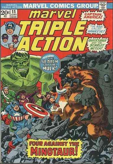 Marvel Triple Action (1972) 11-A by Marvel