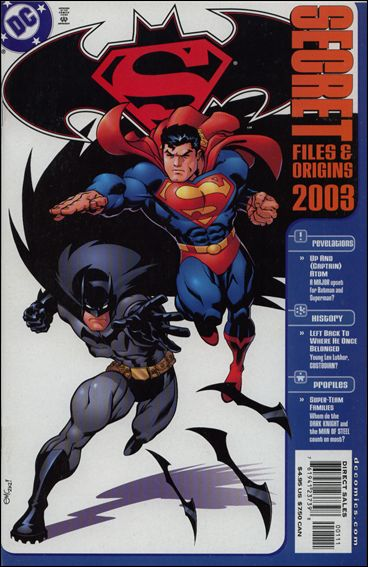 Superman/Batman Secret Files 2003 2003-A by DC