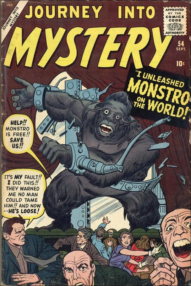 Journey into Mystery (1952) 54-A by Marvel
