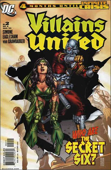 Villains United 2-A by DC