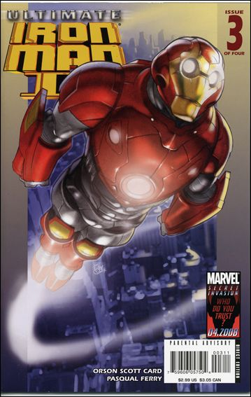 Ultimate Iron Man II 3-A by Marvel