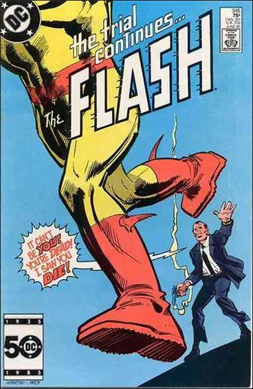 Flash (1959) 346-A by DC