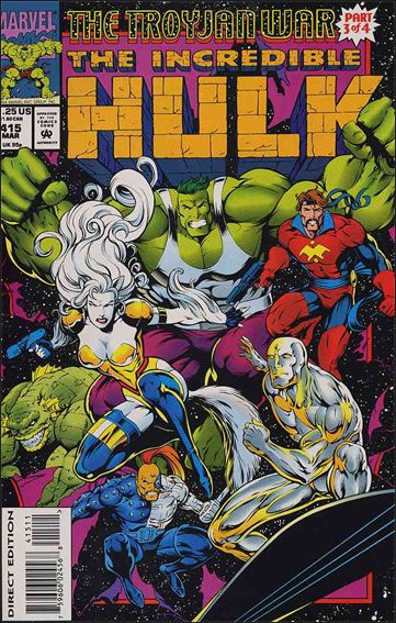 Incredible Hulk (1968) 415-A by Marvel
