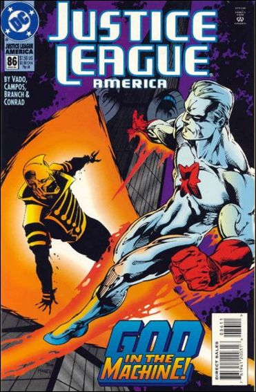 Justice League America 86-A by DC