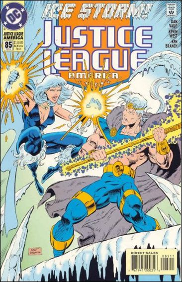 Justice League America 85-A by DC