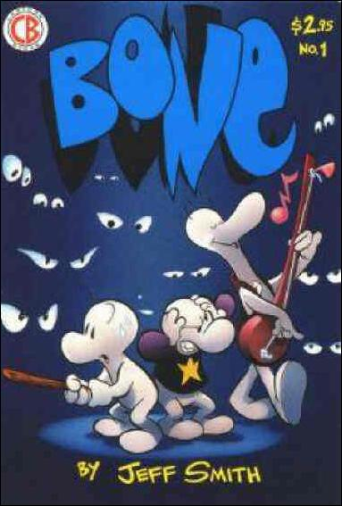 Bone (1991) 1-C by Cartoon Books